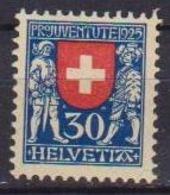 SVIZZERA -1925 PRO JUVENTUTE STEMMI CANTONALI - UNIF. 221 MNH XF - Nuovi