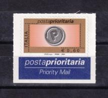 Italy, 2004- Definitive. Posta Prioritaria.0,60euro. Rotocalco. MintNH - 6. 1946-.. Republic