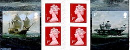 Great Britain 2019 Royal Navy In Booklet S-a, (Mint NH), Ships And Boats - Stamp Booklets - 1952-.... (Elizabeth II)