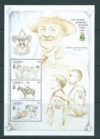 Liberia 1998 Boy Scout Jamboree Miniature Sheet Common Design Series MNH - Liberia
