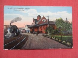 D & H  R.R. Station Carbondale  Pennsylvania  ----ref 3665 - United States
