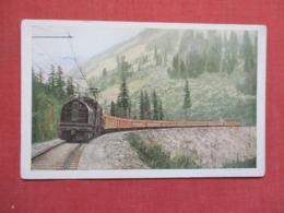 C.M & St. P. Railway Electrification ----ref 3665 - Trains