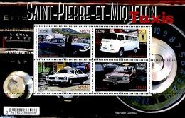 Saint Pierre Miquelon 2019 Taxi's 4v M/s, (Mint NH), Automobiles - Voitures