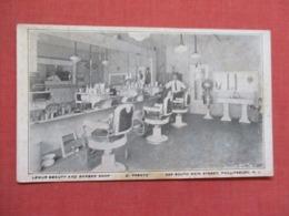 Non Postcard Back--- Lemur Beauty & Barber Shop  Phillipsburg  New Jersey > --ref 3665 - Vereinigte Staaten