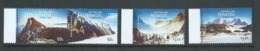 Australian Antarctic Territory 2013 Mountains Set Of 4 MNH - Unused Stamps
