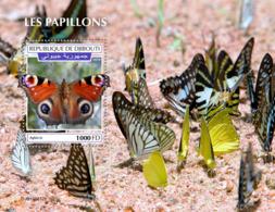 Djibouti 2019 Fauna Butterflies S201909 - Yibuti (1977-...)