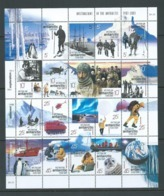 Australian Antarctic Territory 2001 Australians In Antarctic Sheet Of 20 MNH - Unused Stamps