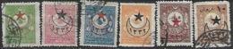 Turkey  1916  Sc#370-3, 376-7 Used   2016 Scott Value $7 - Oblitérés