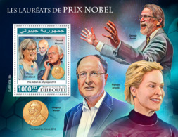 Djibouti 2019 Nobel Prize Winners Donna Strickland S201909 - Djibouti (1977-...)