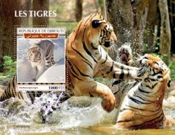 Djibouti 2019 Fauna Tigers S201909 - Djibouti (1977-...)