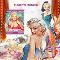 Djibouti 2019 Marilyn Monroe  S201909 - Djibouti (1977-...)