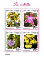 Djibouti 2019 Orchids S201909 - Djibouti (1977-...)