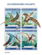Djibouti 2019 Flying Dinosaurs S201909 - Djibouti (1977-...)