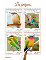 Djibouti 2019 Fauna Bee-eaters S201909 - Djibouti (1977-...)