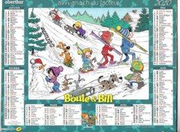 THEME BD - CALENDRIER BOULE ET BILL 2010 ( STUDIO BOULE ET BILLE 2009 ) VOIR LES SCANNERS - Livres, BD, Revues