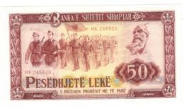 Albania 50 Leke 1976. UNC. - Albania