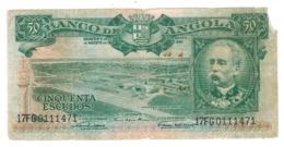 Angola 50 Escudos 1956. VG/F. - Angola