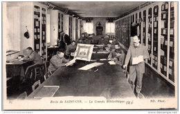 78 SAINT CYR ECOLE - L'école Militaire, La Grande Bibliothèque - St. Cyr L'Ecole
