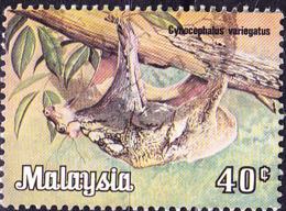 Malaysia - Südasiatischer Gleitflieger (Cynocephalus Variegatus) (MiNr: 190) 1979 - Gest Used Obl - Maleisië (1964-...)