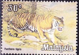 Malaysia - Tiger (Panthera Tigris) (MiNr: 189) 1979 - Gest Used Obl - Maleisië (1964-...)