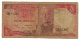 Angola 20 Escudos 1972. VG. - Angola