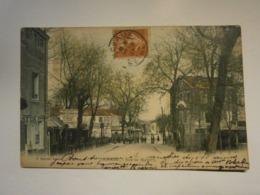 Robinson Rue De Malabry Marchand De Chevaux,Haut De Seine 92,voyagée 1907,trèsbel état,rare,colorisée - Le Plessis Robinson