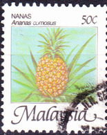 Malaysia - Ananas (Ananas Comosus) (MiNr: 331 ) 1986/94 - Gest Used Obl - Malaysia (1964-...)