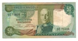 Angola 50 Escudos 1972. VF. - Angola