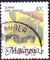 Malaysia - Durian (Durio Zibethinus) (MiNr: 332) 1986/94 - Gest Used Obl - Maleisië (1964-...)