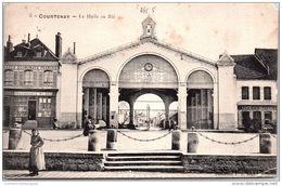 45 COURTENAY - La Halle Au Blé - Courtenay