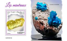 Djibouti 2019 Minerals S201909 - Djibouti (1977-...)