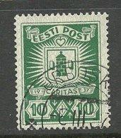 ESTLAND Estonia 1937 Caritas Michel 127 O IRBOSKA - Estland