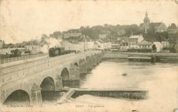 WW 70 GRAY. Train Tramway Sur Le Pont 1905 - Gray
