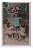 CPA - ENFANTS - BONNE ANNÉE - Groupes D'enfants & Familles