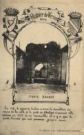 Histoire De Vertus Marne PORTE BAUDET  Decor Blasons RV - Vertus