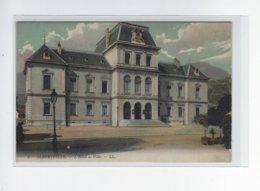 DEP. 73 ALBERTVILLE L'HOTEL DE VILLE Carte Colorisée - Albertville