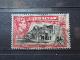 VEND BEAU TIMBRE DE GIBRALTAR N° 112 !!! - Gibraltar
