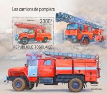 Togo 2019 Fire Engines   S201909 - Togo (1960-...)