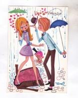 CPM ILLUSTREE BRELL, COUPLE JEUNE - Otros Ilustradores