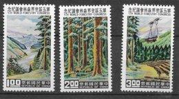 Formose Taiwan   N°  333   à 335     Neufs * *   TB  =  MNH  VF       Soldé ! ! ! Le Moins Cher Du Site ! ! ! - 1945-... République De Chine