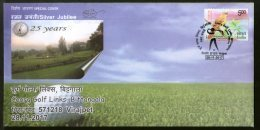 India 2017 Coorg Golf Field Links Bittangala Sports Games Special Cover # 18277 - Golf
