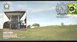 India 2014 Mercara Downs Golf Club Medikeri Centenary Sport Special Cover # 18504B Inde Indien - Golf