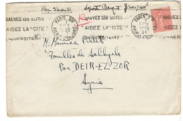 23165 - Pour La SYRIE - Postmark Collection (Covers)
