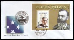Micronesia 2001 Chemistry Nobel Prize Winner Sc 472 M/s FDC # 16603 - Nobel Prize Laureates