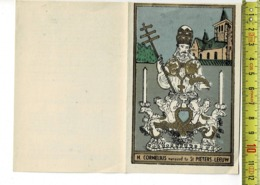 Map 049 - H. CORNELIUS VEREERD TE ST PIETERS LEEUW - LITANIE - Images Religieuses