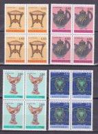 """N° 2854 à 2857 Série """"Arts Décoratifs"""" : Belle Série En  Blocs De 4 Timbres Neuf Impeccable - Francia"""