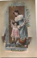 (1295) Moeder En Dochter - Kip En Kuiken - 1912 - Couples