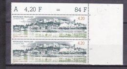 N° 2817 Chinon, Indres Et Loire : Belle Paire De 2 Timbres Neuf Impeccable - Ungebraucht