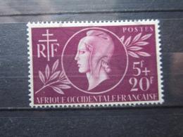 VEND BEAU TIMBRE D ' A.O.F. N° 1 , X !!! - A.O.F. (1934-1959)