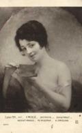 Salon 1914 A MERCIE  Distraite ' Portrait Jeune Femme épaules Nues) RV - Peintures & Tableaux